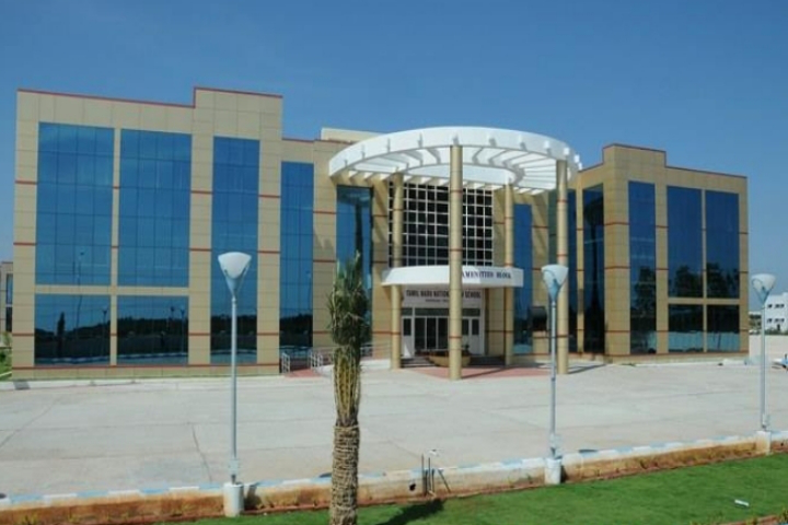 Tamil Nadu National Law University, Tiruchirappalli Front View of Tamil Nadu National Law School Tiruchirappalli