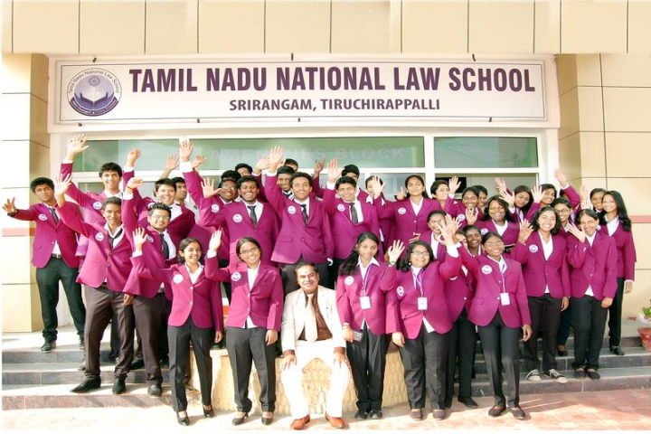 Tamil Nadu National Law University, Tiruchirappalli Students of Tamil Nadu National Law School Tiruchirappalli