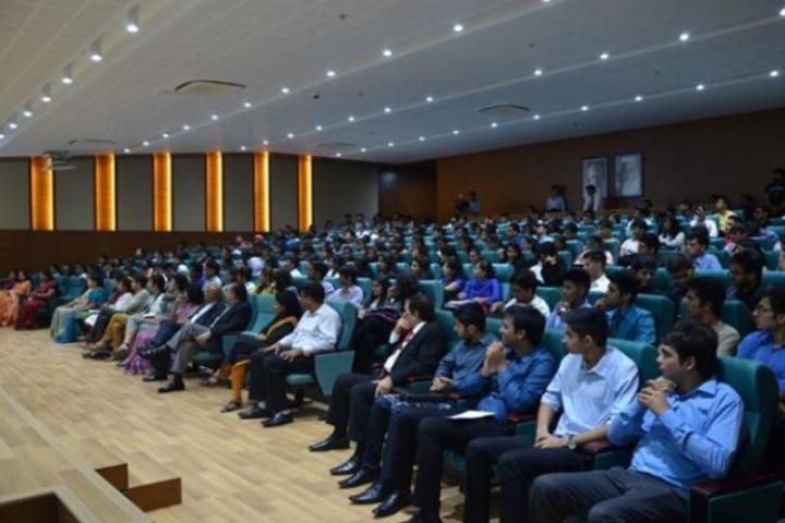Auro University, Surat  Guest at Auditorium Auro University Surat