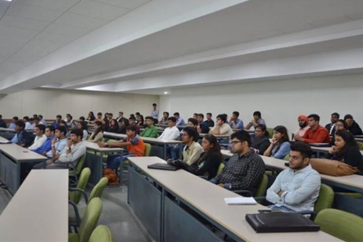 Auro University, Surat  Students at Classroom Auro University Surat