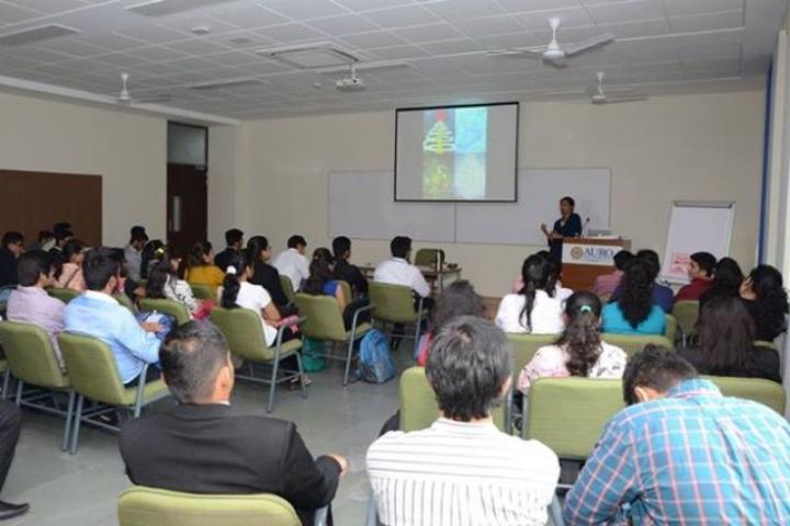 Auro University, Surat  Smart Classroom of Auro University Surat
