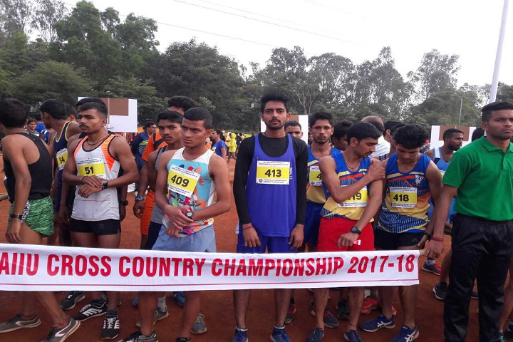 Central University of Gujarat, Gandhinagar  Cross Country at Central University of Gujarat Gandhinagar