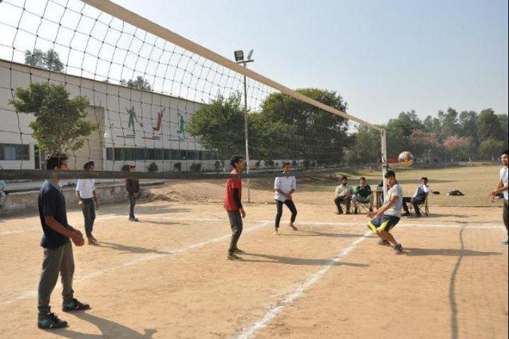 Chitkara University, Himachal Pradesh  Sport Facility at Chitkara University Himachal Pradesh