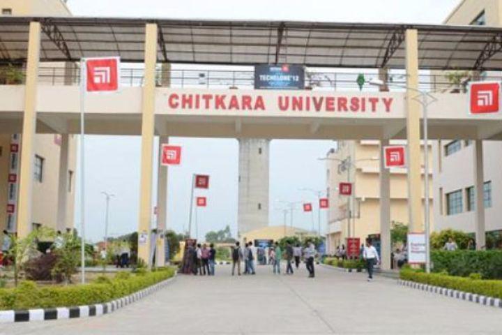 Chitkara University, Himachal Pradesh  Main Gate of Chitkara University Himachal Pradesh