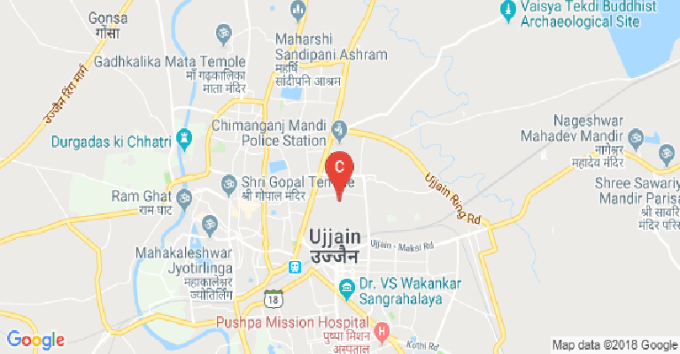 Ujjain India Map.Shri Guru Sandipani Institute Of Technology And Science Ujjain