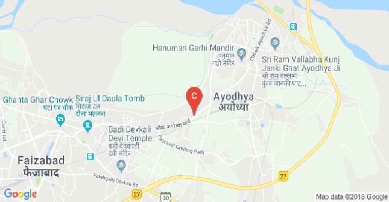 Ayodhya In India Map.K S Saket P G College Ayodhya Courses Fee Cut Off Ranking