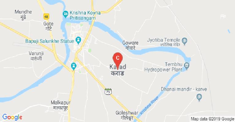 Krishna River Map