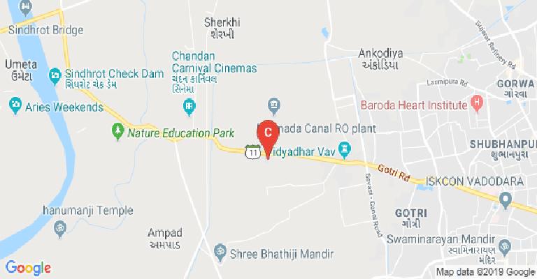 Baroda India Map.Baroda Homoeopathic Medical College Vadodara Courses Fee Cut
