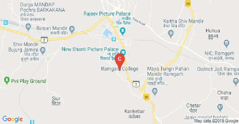 Ramgarh College, Ramgarh - courses, fee, cut off, ranking