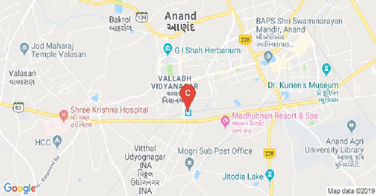 Birla Vishvakarma Mahavidyalaya, Anand - courses, fee, cut