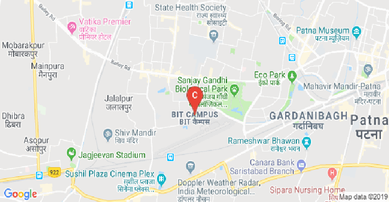 Central University of South Bihar, Patna - courses, fee, cut