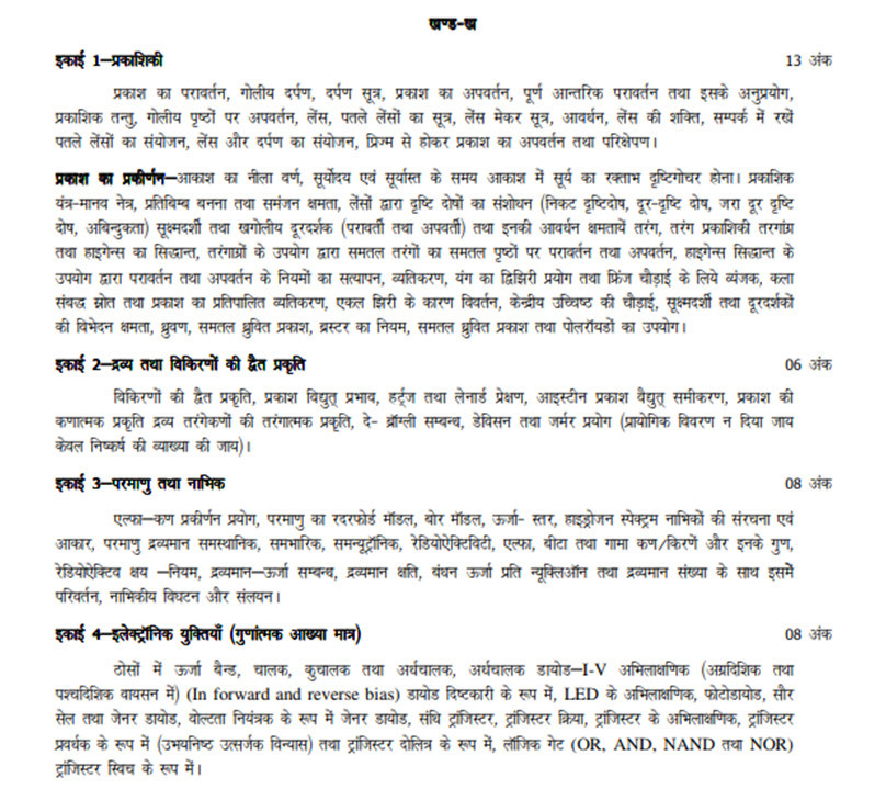 UP_Board_hindi_Syllabus_Section_B