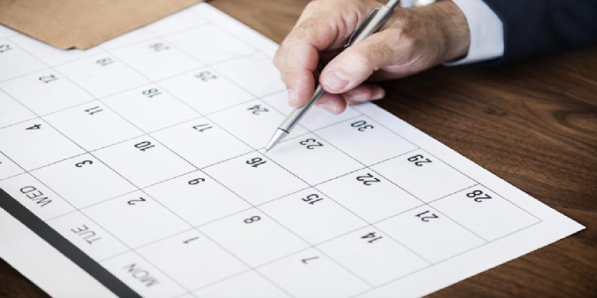 NPAT BBA Important Dates 2019