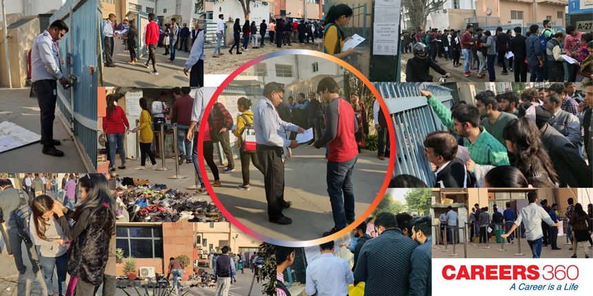 CAT 2018 Exam Day in Pictures