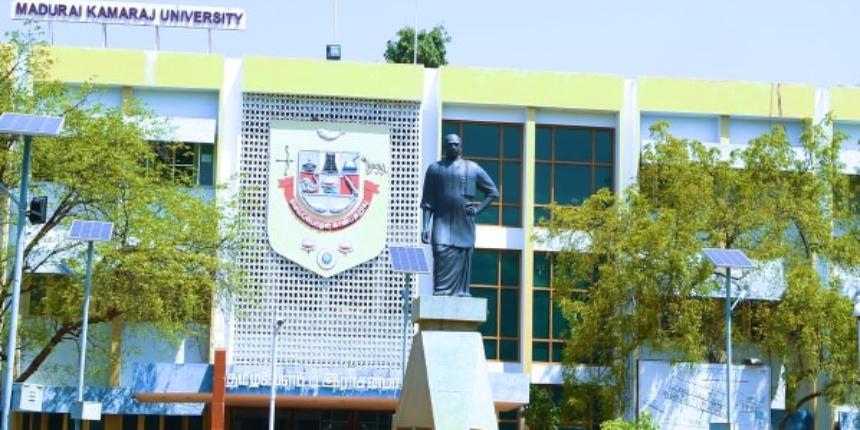 Madurai Kamaraj University Admission 2019