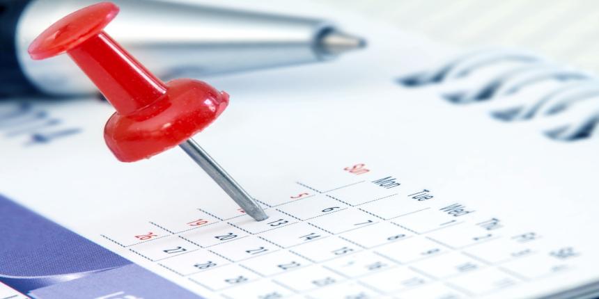 Ambedkar University Important Dates 2019