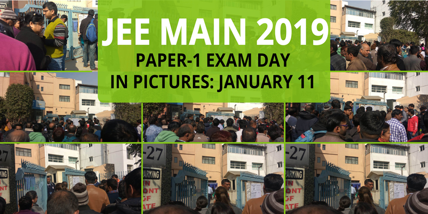 JEE Main 2019 Exam Day in Pictures: January 11