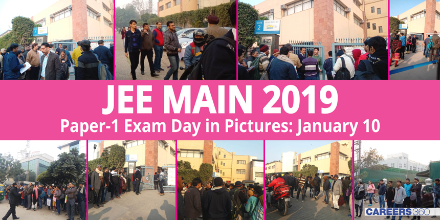 JEE Main 2019 Exam Day in Pictures: January 10
