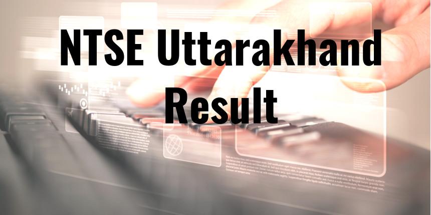 NTSE Uttarakhand Result 2020