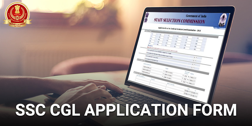 SSC CGL Application Form 2019
