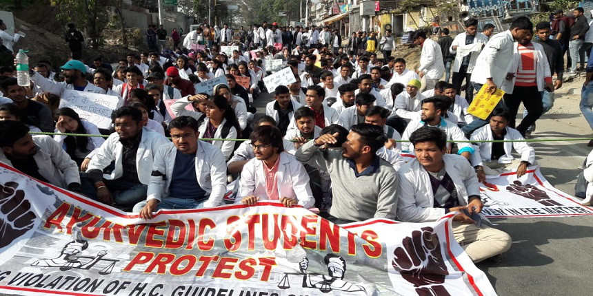Uttarakhand student protest: Ayurveda university VC hints at withdrawal of affiliation of colleges
