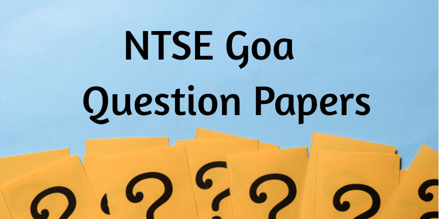 NTSE Goa Question Papers 2020