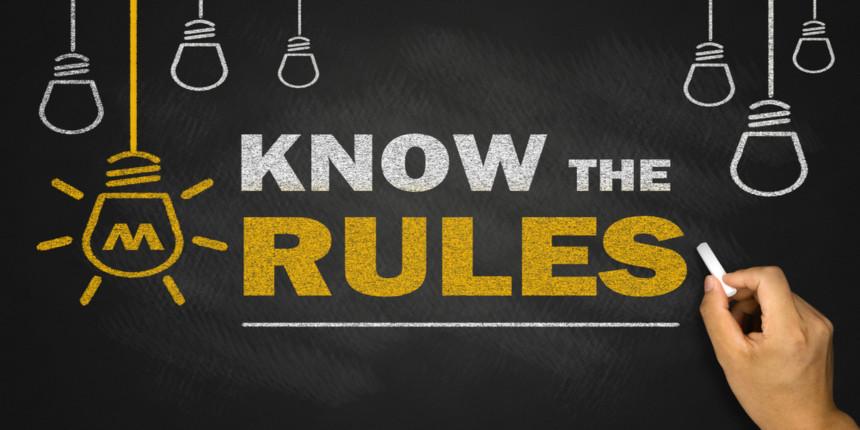 NEET 2020 Rules and Regulations