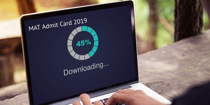 MAT admit card 2019 for PBT mode issued in online mode