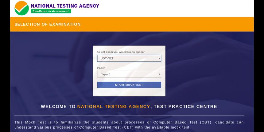 UGC NET Mock Test 2019