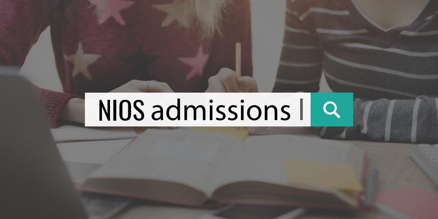 NIOS 10th Registration 2019-2020