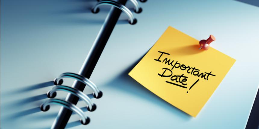 NMAT Important Dates 2019