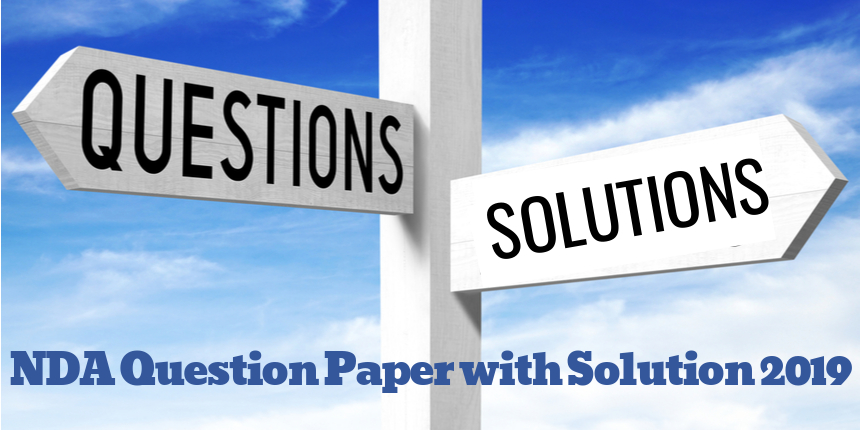 NDA Question Paper with Solution 2019
