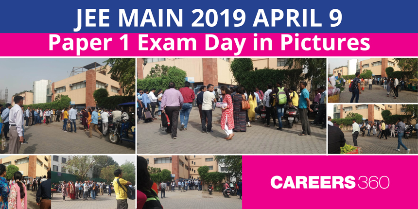 JEE Main 2019 Paper 1 Exam Day in Pictures : April 9
