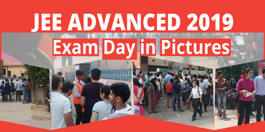 JEE Advanced 2019 Exam Day in Pictures