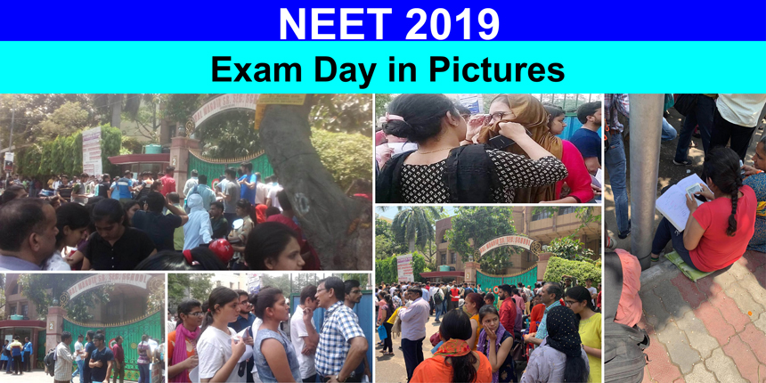 NEET 2019: Exam day in pictures