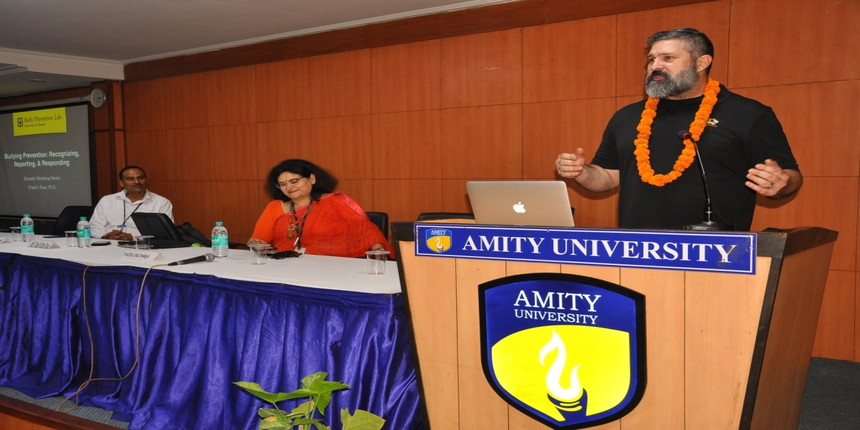 Amity University ropes in University of Missouri professor for lecture on bullying