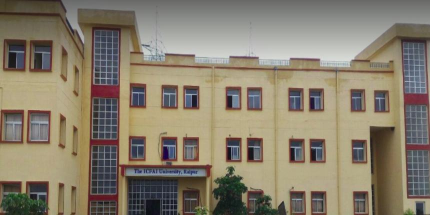 ICFAI University Raipur announces UG admissions for 2019-20