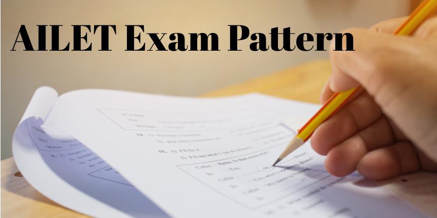 AILET Exam Pattern 2020