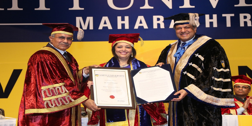 First annual convocation at Amity University Maharashtra: Honorary doctorates for three eminent personalities