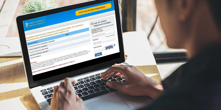 IBPS Clerk Application Form 2019