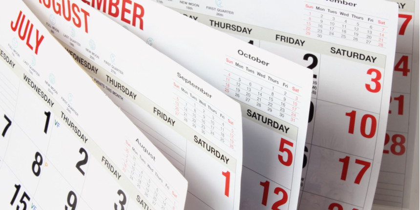 UCEED Important Dates 2020