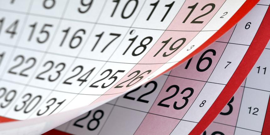 BHU UET Important Dates 2020