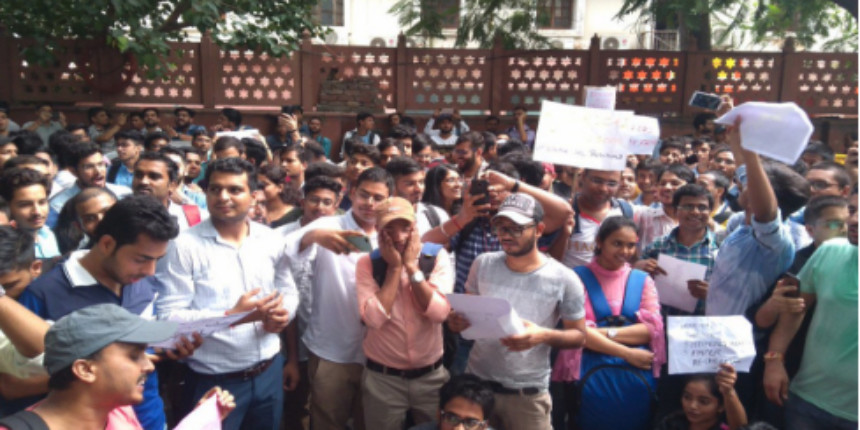 ICAI students protest against erroneous evaluation; demand reforms