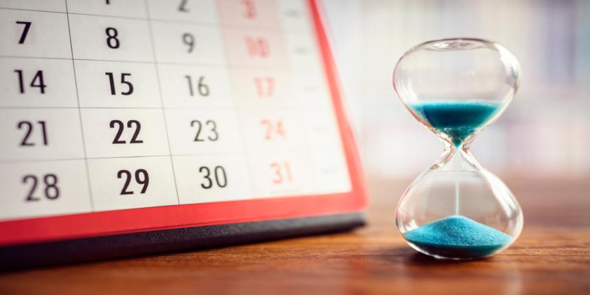 NIMCET Important Dates 2020