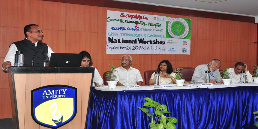 Amity University's workshop focuses on climate change as a social challenge