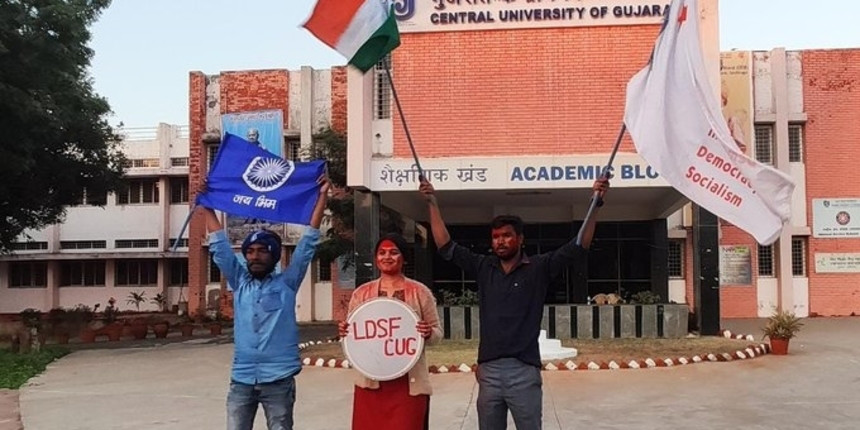 ABVP loses all 5 seats in Central University of Gujarat elections