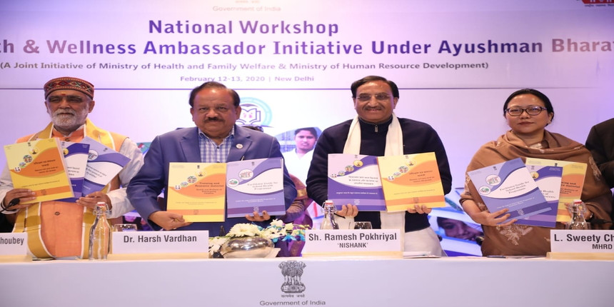 Two teachers as health ambassadors in every school: MHRD
