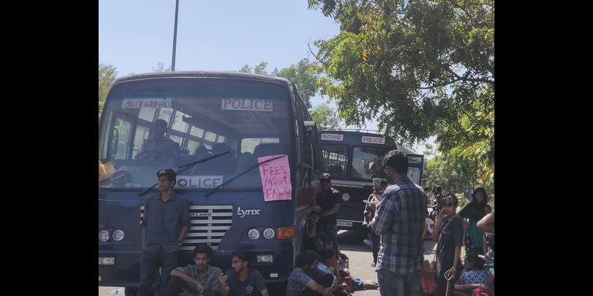 'Will not back down': Pondicherry University students against fee-hike