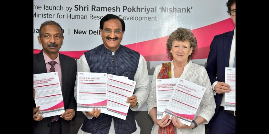 MHRD launches development program for higher education administrators