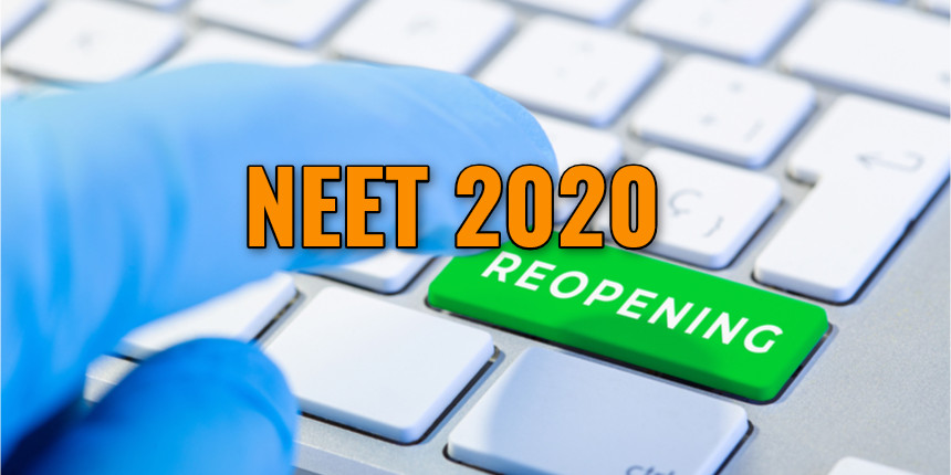 Students request HRD Minister to reopen NEET 2020 applications after JEE Main is opened